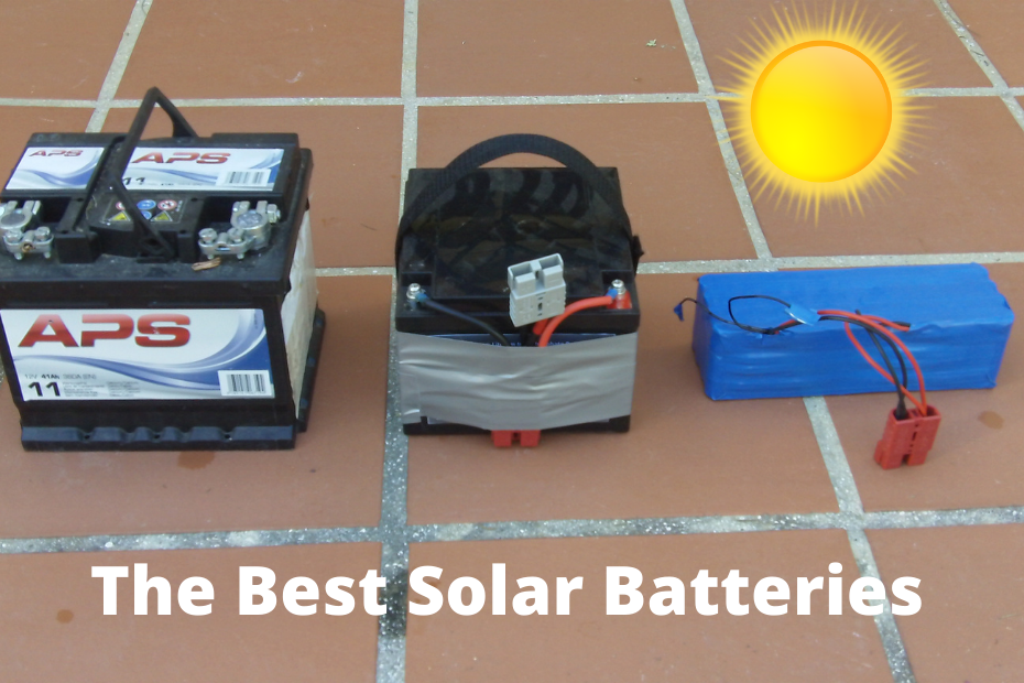 What are the best home solar energy storage batteries