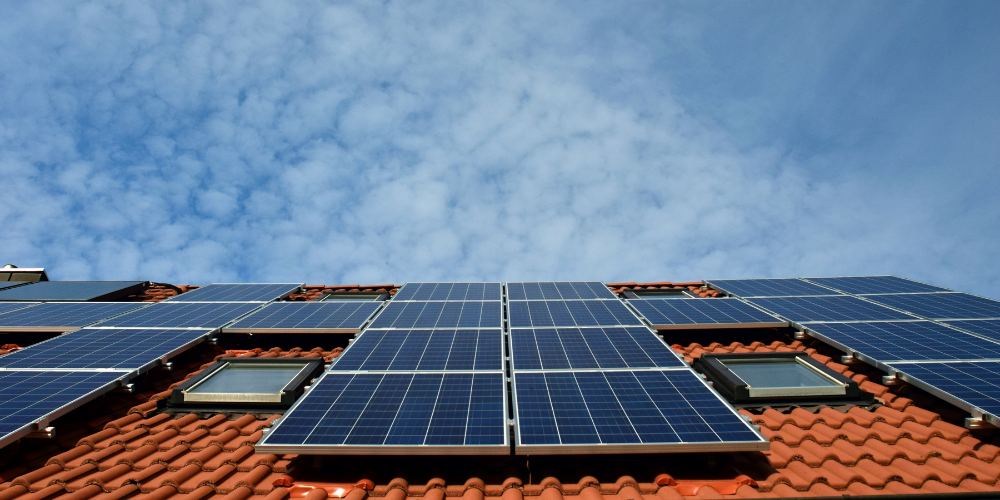 Solar panels can be mounted on non-invasive brackets and rails