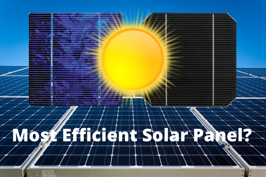 How efficient are solar panels?
