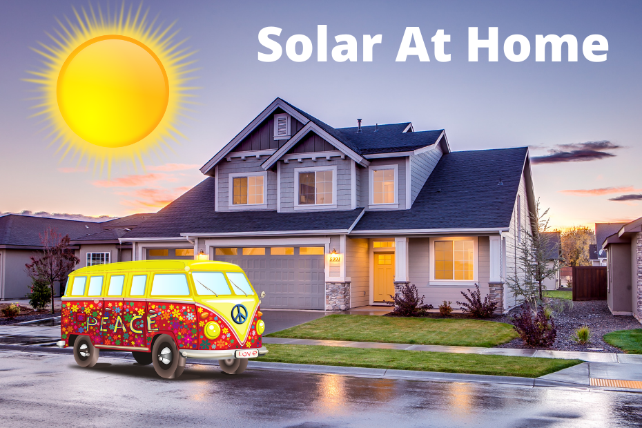 Ways to use solar panels at home