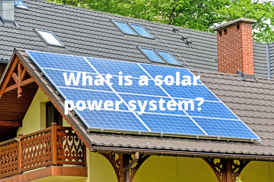 What goes into a solar PV system?