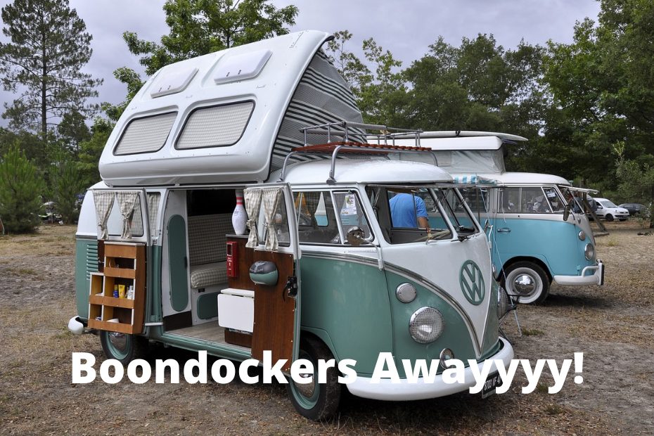 What is boondocking and where does it come from?